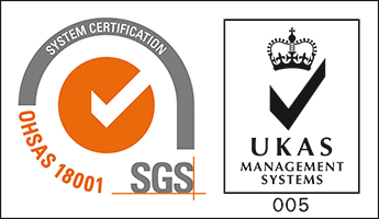 SGS OHSAS-18001 with UKAS TCL HR