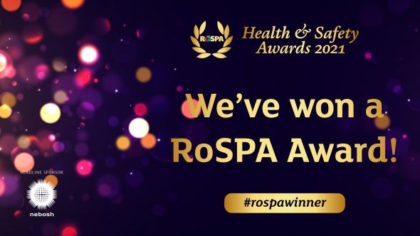 Lorien named as World Leader in Health & Safety by RoSPA