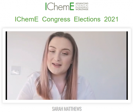 Lorien engineer stands for IChemE Congress Election