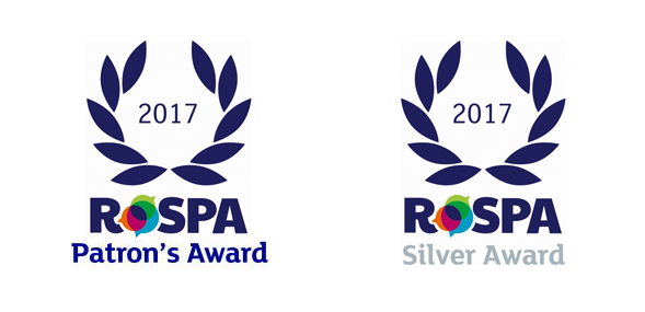 RoSPA recognition for Lorien with prestigious Patron's Award